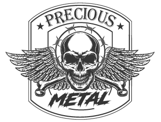 Precious Metal logo design winner