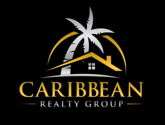 Caribbean Realty Group logo design
