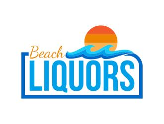 Beach Liquors logo design
