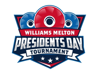 Williams Melton Presidents Day Tournament  logo design