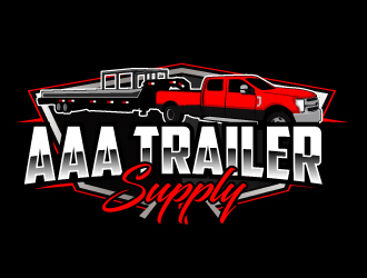 AAA Trailer Supply logo design