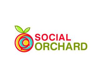 Social Orchard logo design