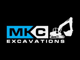 MKC EXCAVATIONS logo design