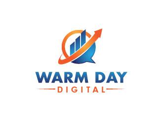 Warm Day Digital logo design winner