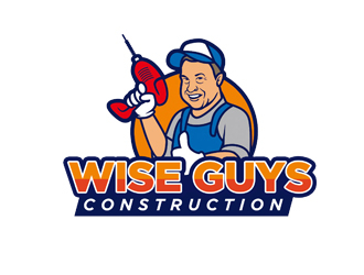 Wise Guys Construction logo design by senja03