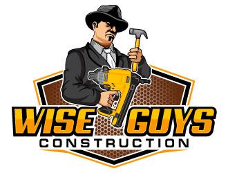 Wise Guys Construction logo design by uttam