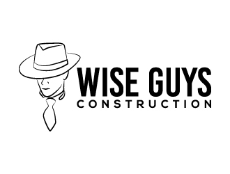 Wise Guys Construction logo design by karjen