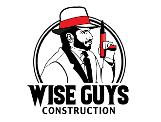 Wise Guys Construction logo design by Suvendu