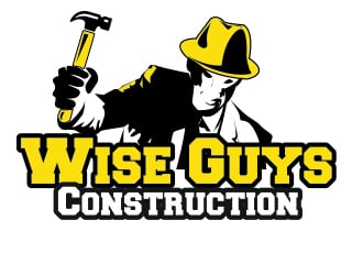 Wise Guys Construction logo design by nraaj1976