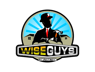 Wise Guys Construction logo design by Dhieko