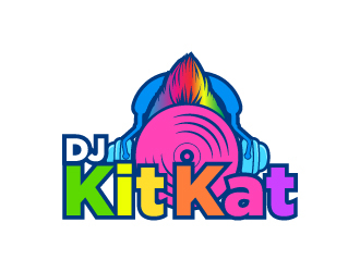 DJ KitKat logo design winner