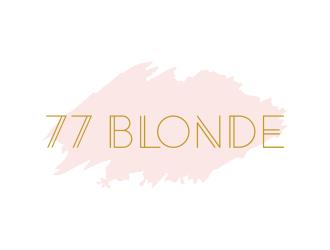 77 Blonde logo design winner