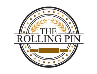 The Rolling Pin Logo Design