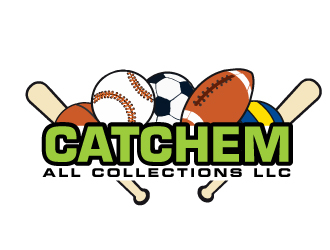 Catchem All Collections LLC logo design by ElonStark