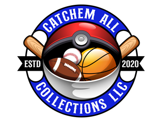 Catchem All Collections LLC logo design by DreamLogoDesign