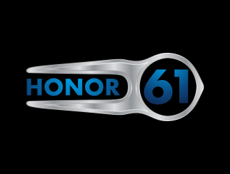 HONOR 61 logo design