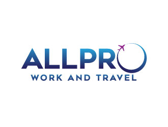 ALLPRO WORK AND TRAVEL logo design