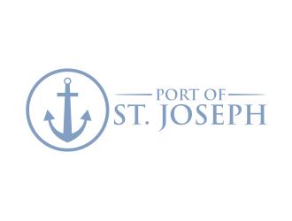 Port of St. Joseph logo design by rief