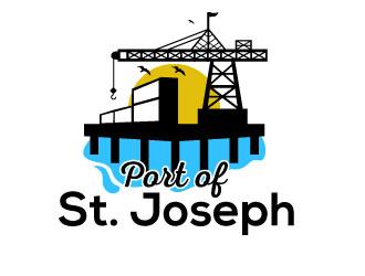 Port of St. Joseph logo design by Suvendu