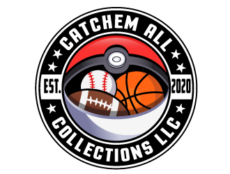 Catchem All Collections LLC logo design by LucidSketch