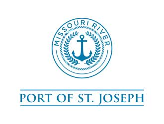 Port of St. Joseph logo design by oke2angconcept