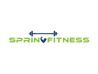Spring Fitness logo design