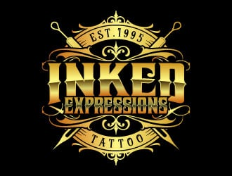 Inked Expressions  Logo Design