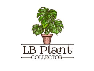 LB Plant Collector logo design by Suvendu