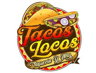 Los Tacos Locos  logo design by veron