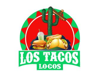 Los Tacos Locos  logo design by czars