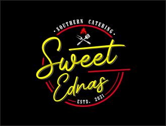 Sweet Ednas Southern Catering logo design by mrdesign