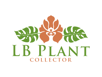 LB Plant Collector logo design by Gwerth