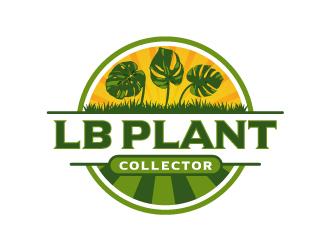 LB Plant Collector logo design by fillintheblack
