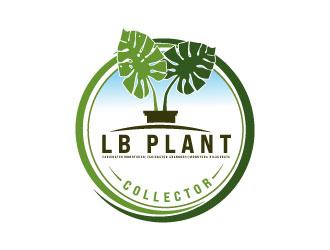 LB Plant Collector logo design by Erasedink