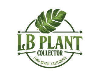LB Plant Collector logo design by LogOExperT