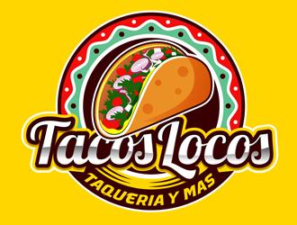 Los Tacos Locos  logo design by DreamLogoDesign