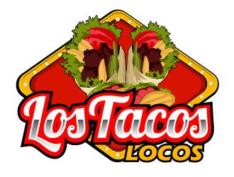 Los Tacos Locos  logo design by ElonStark