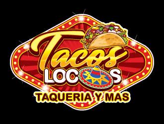 Los Tacos Locos  logo design by invento