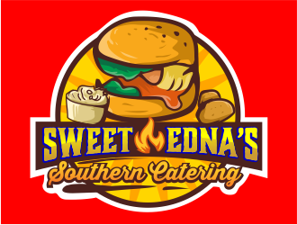 Sweet Ednas Southern Catering logo design by 6king