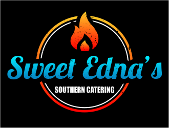 Sweet Ednas Southern Catering logo design by Girly