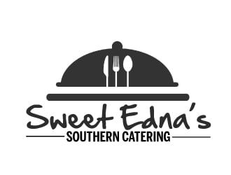 Sweet Ednas Southern Catering logo design by ElonStark