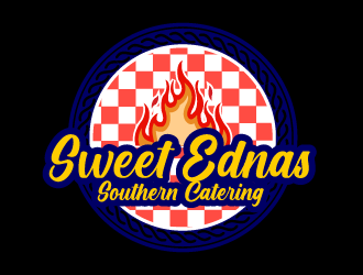 Sweet Ednas Southern Catering logo design by czars