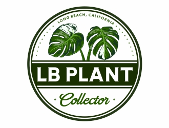 LB Plant Collector logo design by Mardhi