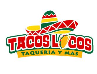 Los Tacos Locos  logo design by jaize