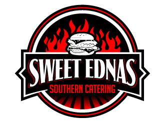 Sweet Ednas Southern Catering logo design by jaize