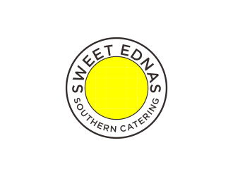 Sweet Ednas Southern Catering logo design by MUNAROH