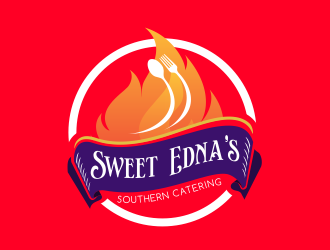 Sweet Ednas Southern Catering logo design by Dhieko