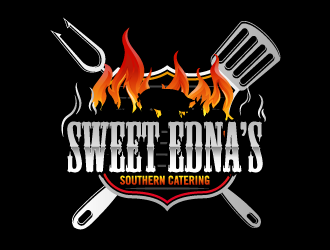 Sweet Ednas Southern Catering logo design by torresace