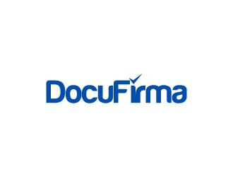 DocuFirma logo design by wongndeso