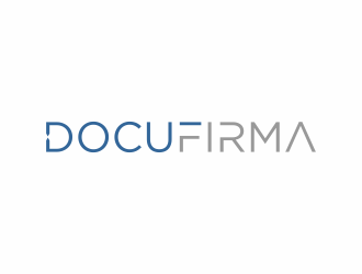 DocuFirma logo design by vostre